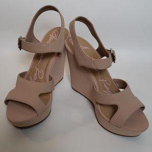 American Rag pink wedge sandals
